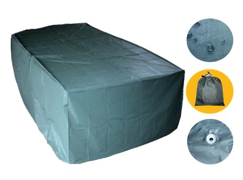 6 Sitz Abdeckhaube 270cm Gartenmöbel Wasserdicht Gartengarnitur Schutzhülle GHS08N-1 jetzt bestellen