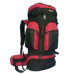 NEW CUSCUS 6200ci Internal Frame Hiking Camp Travel Backpack – Red