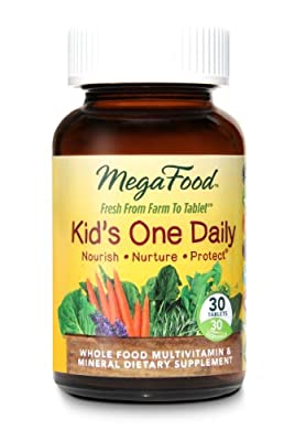 MegaFood - Kid's One Daily, Supports Healthy Growth and Development
