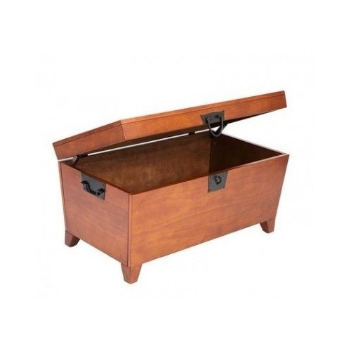 Reviews Trunk Coffee Table With Lift Top In Mission Oak Creates Function Beauty With A Solid