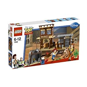 WOODY'S ROUNDUP * LEGO 7594 * Disney / Pixar Toy Story Series 502pcs Building Set