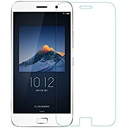 Trenzo Pack of 2 - Trenzo (Hie-power) Hd Clear Tempered Glass Screen Guard Protector for Lenovo Zuk Z1 Tglzz1