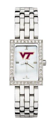 Virginia Tech Women'S Steel Band Allure Watch