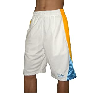 Buy NCAA PRO QUALITY: UCLA Bruins Mens Mesh Sport Shorts with Lining by NCAA