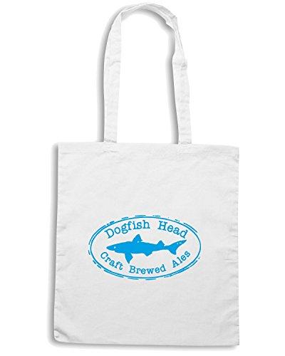 T-Shirtshock - Borsa Shopping FUN1247 dogfish head oval logo sticker 69796, Taglia Capacita 10 litri