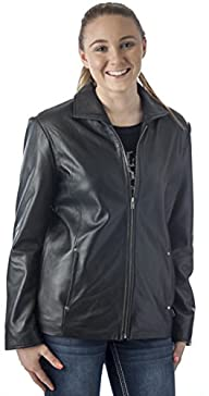 REED Women's 26″ Classic Leather Jacket