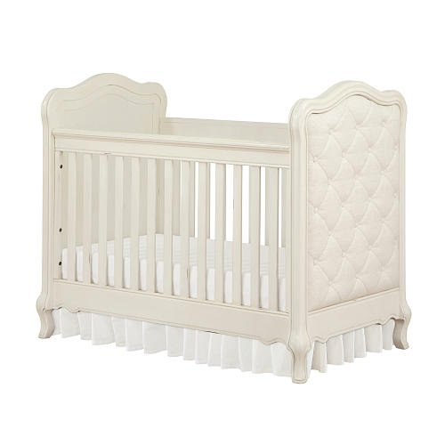 Bertini Tinsley 3-in-1 Upholstered Crib - Antique White 1