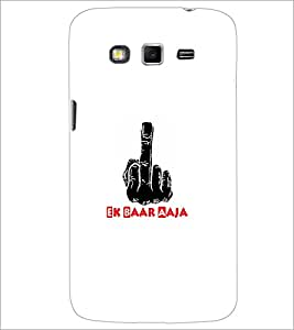 Printdhaba Middle Finger D-5493 Back Case Cover For Samsung Galaxy Grand 2