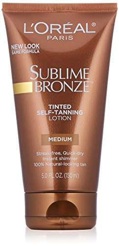 L'Oreal Paris discount duty free L'Oreal Paris Sublime Bronze Tinted Lotion