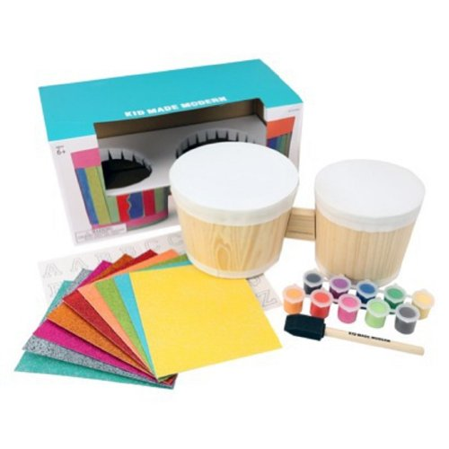 Bongo Stencil And Paint Kit