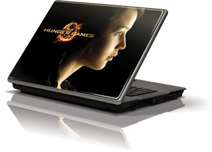 Skinit The Hunger Games -Katniss Everdeen Vinyl Laptop Skin for Generic 12in Laptop (10.6in X 8.3in)