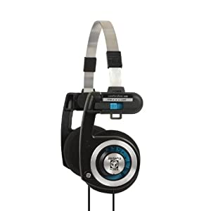 Koss Porta Pro On-Ear Headphones Classic, for iPod, iPhone, MP3 and Smartphone - Black/Silver