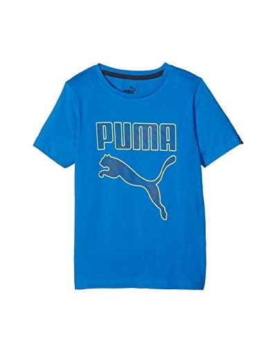 Puma T-Shirt Is Boys Graphic Ii blau
