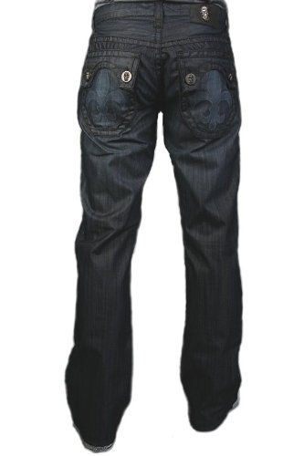 Laguna Beach - Hermosa Beach Men´s genuine Designer Jeans, dark blue denim 38