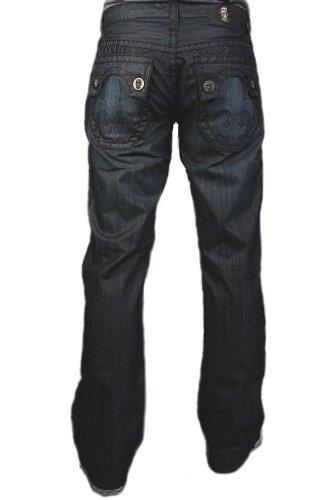 Laguna Beach - Hermosa Beach Men´s genuine Designer Jeans, dark blue denim 40