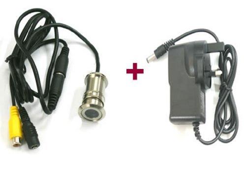 Discoball telecamera per spioncino porta a colori cctv - Spioncino porta con telecamera ...