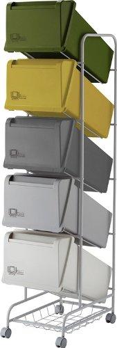 リス『分類ゴミ箱』 コンテナスタイル3 CS3-100 MX4