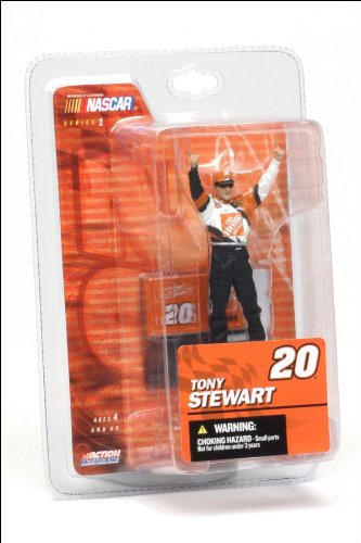 Tony Stewart #20 Series 1 Six Inch Home Depot Action Figure by McFarlane Toys