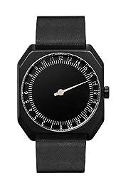 slow Jo 24 - All Black Vintage Leather