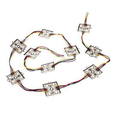 0.5W 4X5050Smd Rgb Light Superlight Led Module (12V)