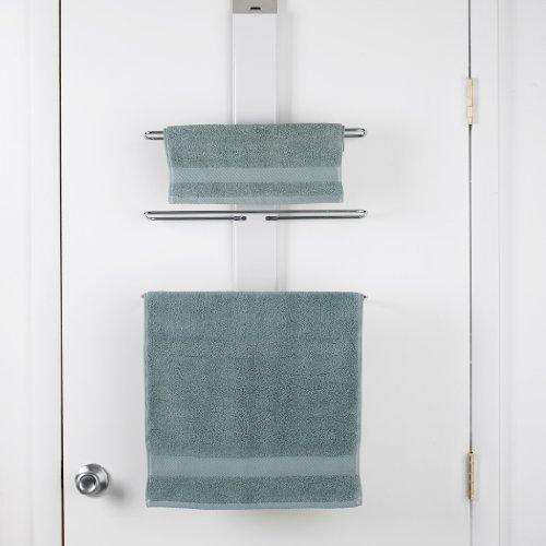 Oxo Over The Door Towel Rack Home Garden Bathroom Accessories Racks Holders