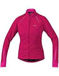 Gore Bike Wear Women's Phantom 2.0 Wind Stopper Soft Shell Jacket - Jazzy Pink/Magenta, Size 34
