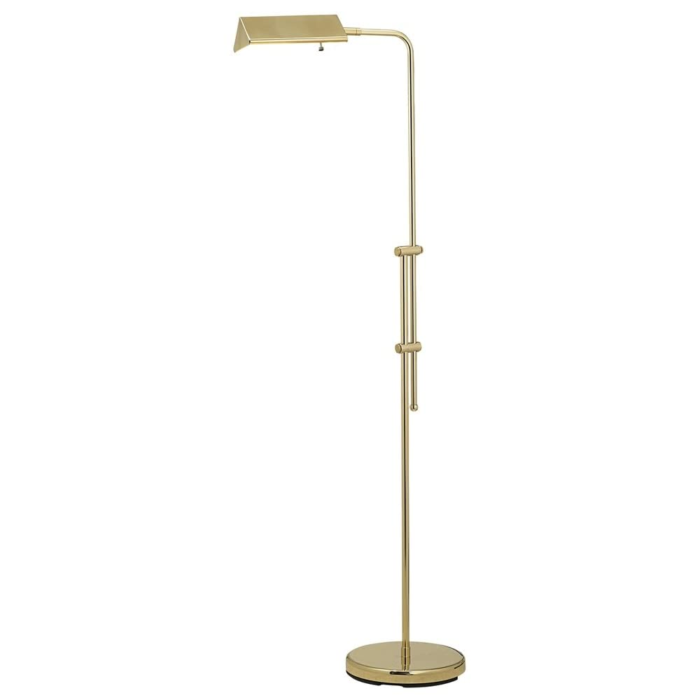 brass finish pharmacy floor lamp buy at amazon. Black Bedroom Furniture Sets. Home Design Ideas
