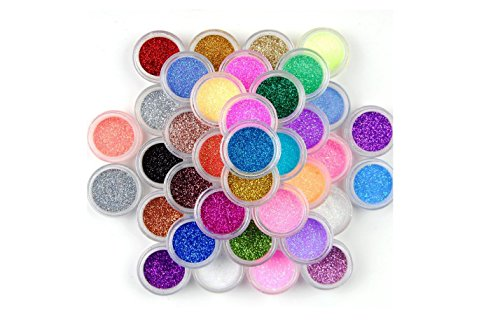 xi-chen-45-color-nail-art-makeup-decoration-glitter-dust-powder-45pcs-by-xichen