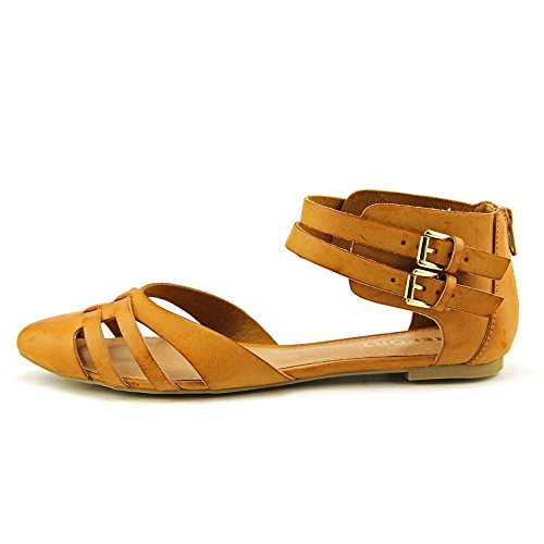 Report Women Bakari Dark Tan Gladiator Sandals 7 M US