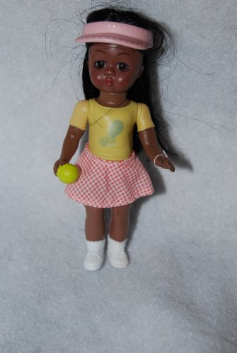 McDonalds Madame Alexander 2005 Tennis Girl African American #10