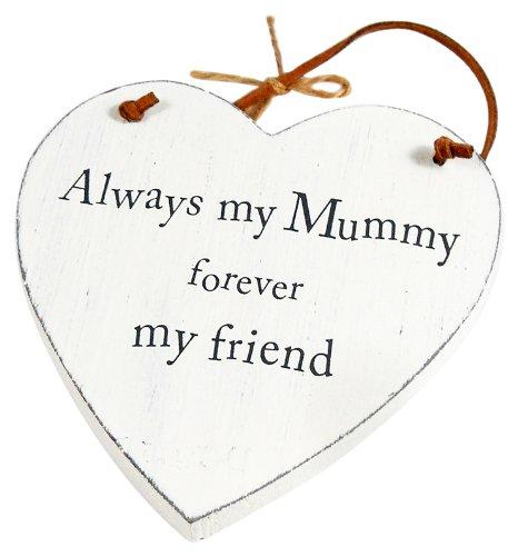 Heartwarmers Wooden Heart Keepsake Gift Sign/ Plaque, Mummy