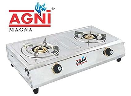 Magna SS 2 Burner Gas Cooktop