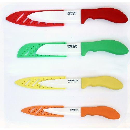 Hampton Forge Durac 8-Piece Dura-Ceramic Cutlery Knife Set, Hmc01A960A