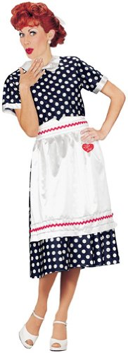 Adult I Love Lucy Costume Size Large (14-16)