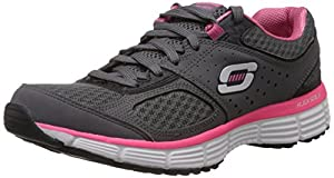 Skechers Agility Perfect Fit, Women Fitness Shoes, Grey (Grey), 3 UK (36 EU)