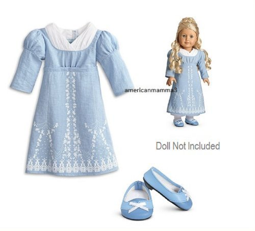 American Girl Caroline - Caroline's Birthday Dress by Mattel (English Manual)