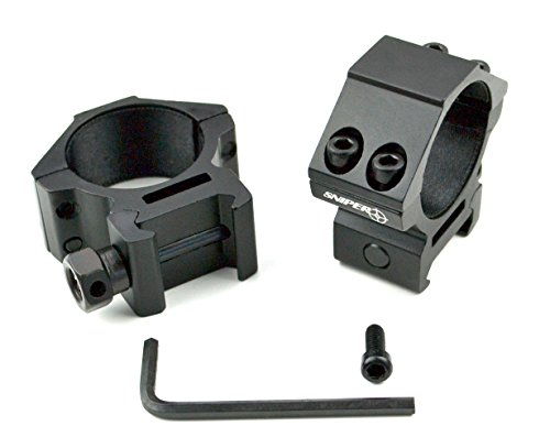 UTG 30mm/2PCs Low Profile Picatinny/Weaver Rings (30mm Scope Rings compare prices)