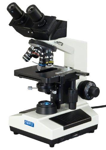 Omax 40X-2000X Built-In 3Mp Digital Camera Compound Led Microscope W Oil Darkfield Condenser