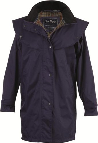 Jack Murphy Cotswold - Ladies 100% Waterproof Coat - UK 20 / EU 48 - Blackberry