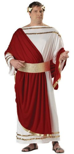 California Costumes Men's Caesar Adult Plus Costume