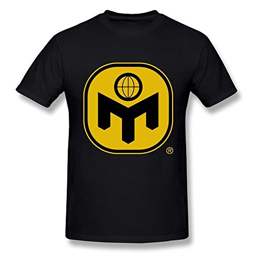 FENGTING Men's Mensa Club Logo T-shirt XXL Black Tee (One Direction Larry Shirt compare prices)