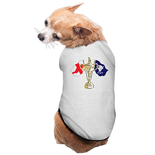 MEGGE Ryder Cup 3 Comfortable Puppies And Dog Vest Gray L (Whistling Straits Hat compare prices)