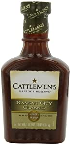 Cattlemen's Award Winning Kansas City Classic Barbecue Sauce, 18-Ounce Plastic Bottles (Pack of 6)