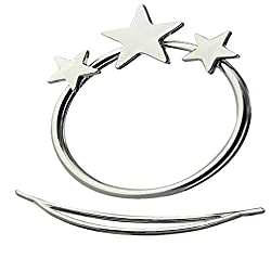 Importe Fashion Star Updo Hoop Hair Pin Clip Stick Accessories Silver