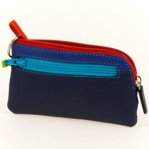 Mywalit 13cm Zippered Closure Quality Leather Coin Purse / Key Case