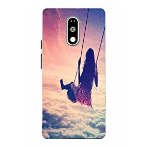 Moto G4 Play Girl Printed Pink Hard Back Cover By Case Cover
