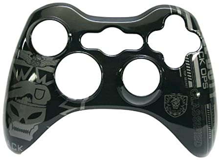 Xbox 360 Call of Duty: Black Ops Controller Faceplate