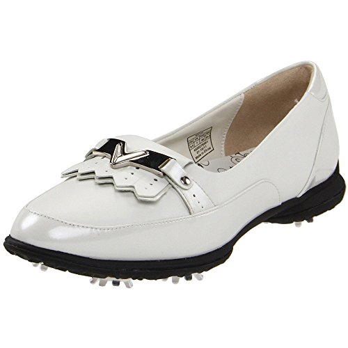 Callaway Footwear Women's Koko Golf Shoe,White/White,9