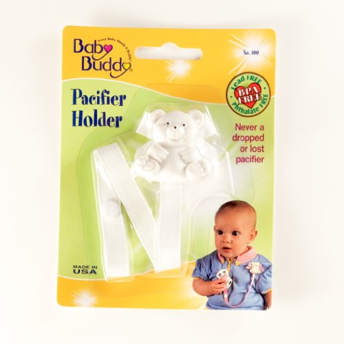 Similar product: Baby Buddy Bear Pacifier Holder