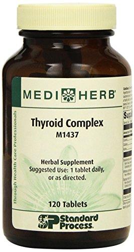 Standard Process - Mediherb - Thyroid Complex 120T
